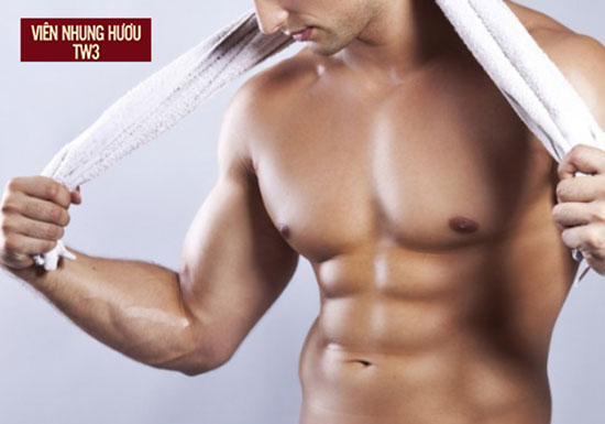 Nhung hươu có tác dụng giúp bổ thận tráng dương, tăng cường sinh lý cho nam giới