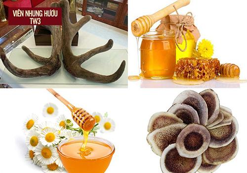 Kết hợp nhung hươu tươi và mật ong bồi bổ cơ thể