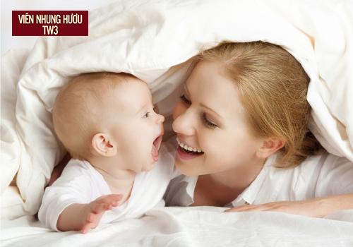 Bồi bổ sức khỏe cho cả mẹ và bé sau sinh