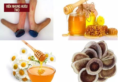 Dùng nhung hươu ngâm mật ong giúp tăng cân