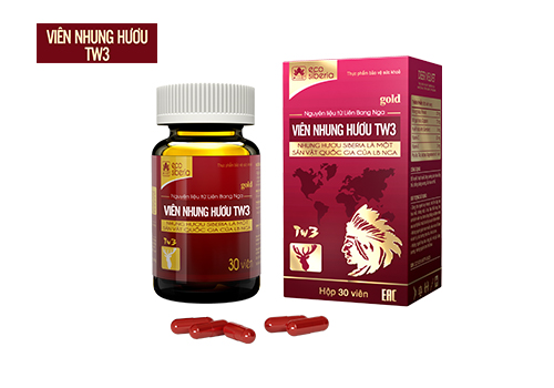 Viên nhung hươu TW3 - một sản phẩm được chiết xuất từ nhung hươu Siberia