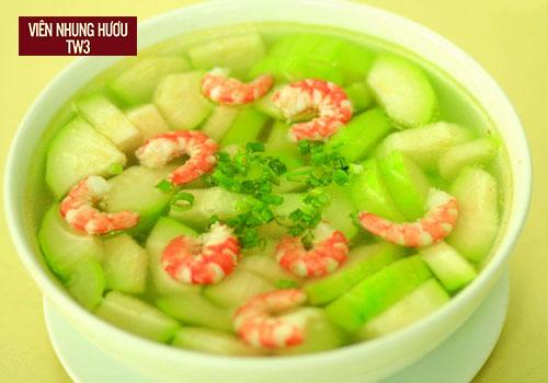 Món ăn chứa nhiều dưỡng chất, thanh mát và bổ dưỡng