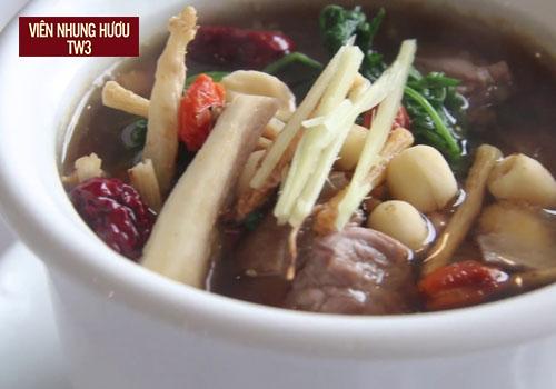 Thịt dê hầm gừng giúp phục hồi sức khỏe một cách nhanh chóng