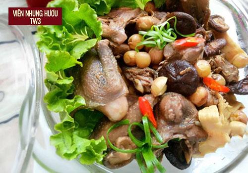 Bồ câu hầm - một trong các món hầm bồi bổ cơ thể cực tốt