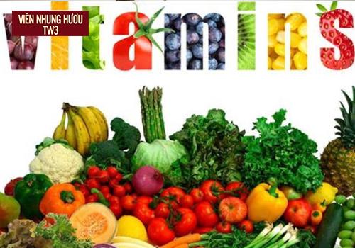 Xây dựng chế độ ăn đầy đủ chất dinh dưỡng