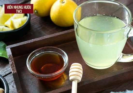 Trà mật ong giúp người ốm mau phục hồi