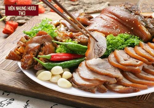 Thịt heo hầm rượu Trung Quốc ngon mắt, ngon miệng bổ sung đạm cho những người làm việc nặng