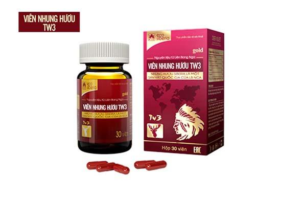 Viên nhung hươu TW3 cải thiện suy nhược cơ thể sau sinh