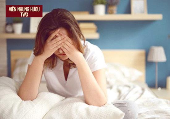 Rối loạn giấc ngủ - Một trong những nguyên nhân gây hoa mắt chóng mặt
