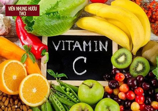 Bổ sung thực phẩm giàu vitamin C giúp tăng cường sức đề kháng cho người bị hoa mắt