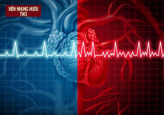 So sánh nhịp tim bình thường và tim đập nhanh