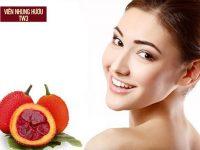 Sử dụng mặt nạ với dầu gấc giúp dưỡng da mịn màng, chống lão hóa