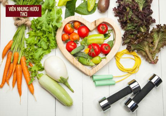 Tăng cường thực phẩm tốt cho sức khỏe