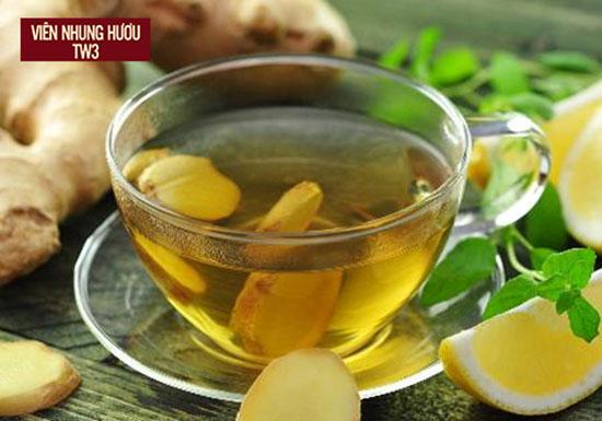 Sử dụng trà gừng là cách trị hoa mắt tức thời