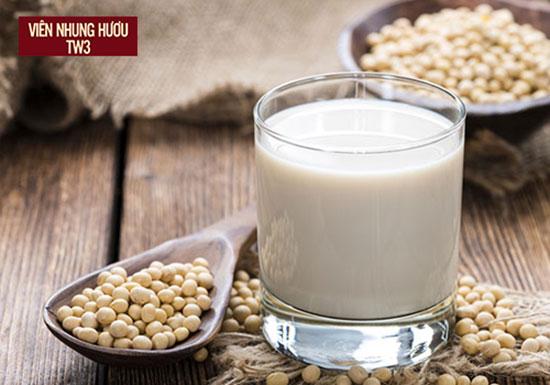 Sữa đậu nành cung cấp collagen ngăn ngừa lão hóa hiệu quả