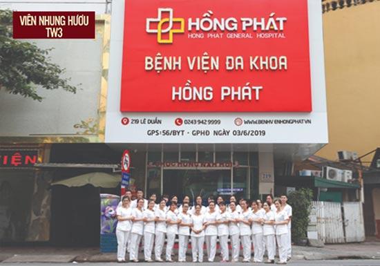 Bệnh viện đa khoa Hồng Phát có đội ngũ bác sĩ giàu kinh nghiệm