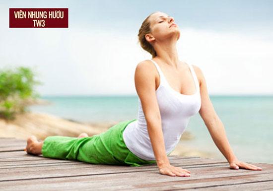 Luyện tập thể dục thể thao nhẹ nhàng để tăng cường sức khỏe sau ốm