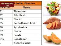 9 + loại vitamin cho người suy nhược cơ thể