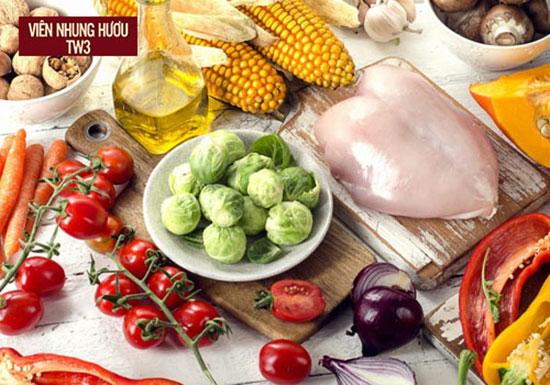 Đảm bảo dinh dưỡng đầy đủ để giảm stress, giảm suy nhược
