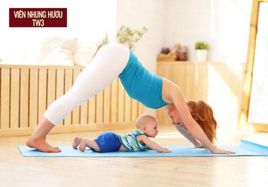 Tập yoga giúp khắc phục suy nhược cơ thể sau sinh