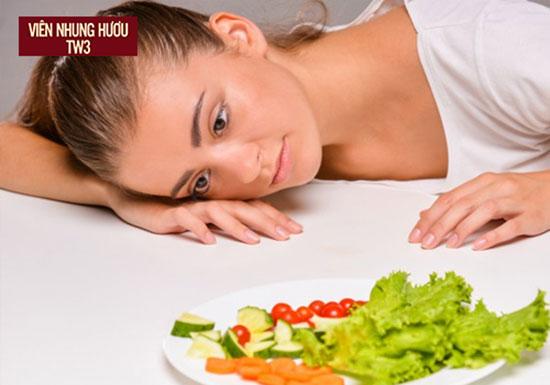 Suy nhược cơ thể khiến bạn chán ăn, luôn mệt mỏi