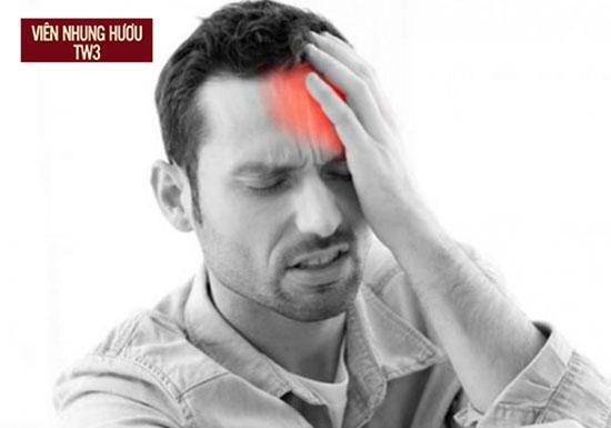 Máu lưu thông kém gây hoa mắt, nhức đầu