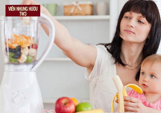 Đa dạng dinh dưỡng cho các mẹ sau sinh giúp ngăn ngừa suy nhược cơ thể