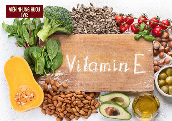 Các thực phẩm chứa vitamin E giúp ngăn ngừa oxy hóa chống lão hóa hiệu quả