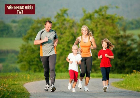 Chạy bộ nhẹ nhàng mỗi ngày giúp gân cốt khỏe hơn