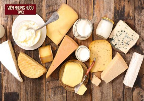 Sản phẩm từ sữa có sự cân bằng tốt giữa protein và carbohydrate