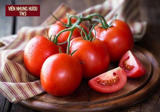 Cà chua giàu Beta - Caroten giúp hình thành mô sẹo, nhanh lành vết thương