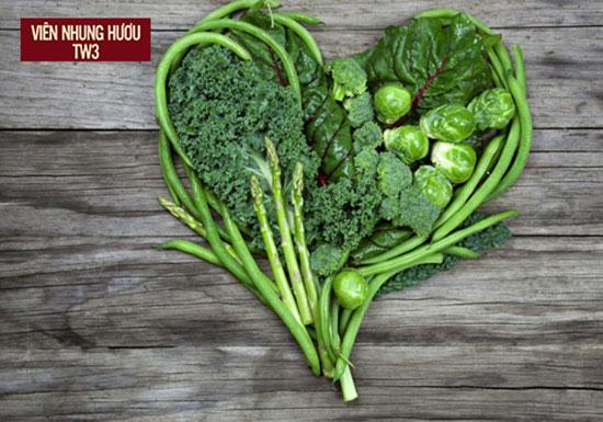 Các loại rau màu xanh đậm là những thực phẩm tăng cường hệ miễn dịch rất tốt