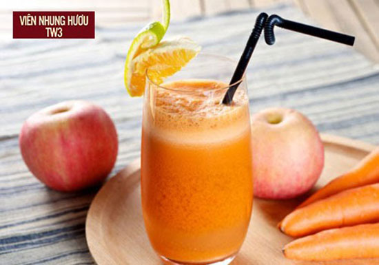 Nước ép trái cây là thức uống lý tưởng cho các bà mẹ sau sinh