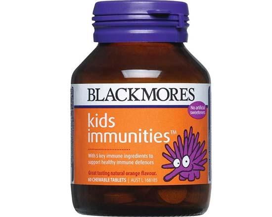 Kid Immunities Blackmore – Thuốc uống tăng sức đề kháng cho trẻ em