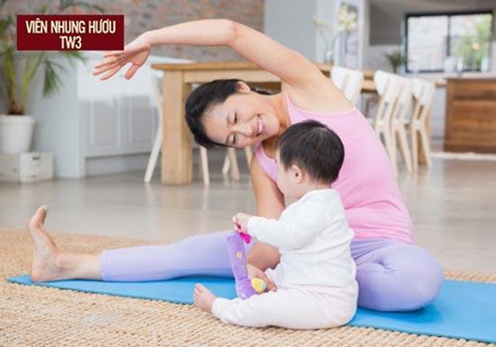 Phụ nữ sau sinh nên làm gì? - Lựa chọn các bài tập thể dục nhẹ nhàng thư giãn cơ thể