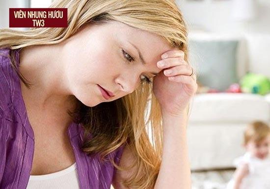 Phụ nữ sau sinh hay gặp phải tình trạng chóng mặt