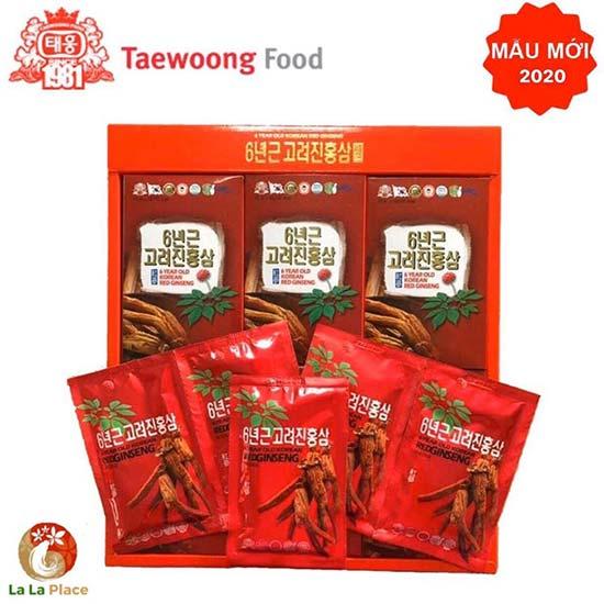Tinh chất hồng sâm Hàn Quốc Taewoong Food là thuốc uống tăng sức đề kháng đạt tiêu chuẩn quốc tế (WHO)