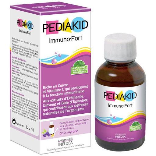Pediakid Immuno – Fort được nhiều gia đình tại Pháp tin dùng