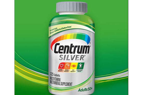 Thuốc bổ sung vitamin tổng hợp cho người già gầy yếu Centrum Silver