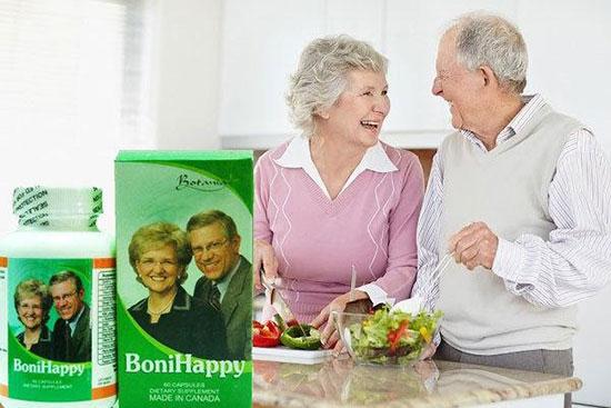 Thực phẩm chức năng hỗ trợ điều trị mất ngủ cho người già BoniHappy của Canada