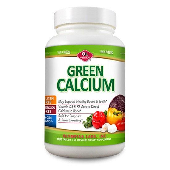 Viên uống Green Calcium bổ sung Canxi hữu cơ cho người già