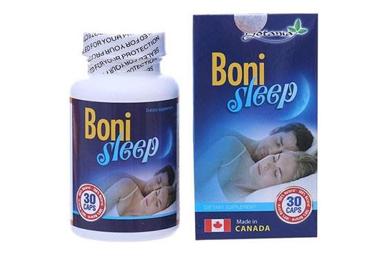 Bonisleep là thực phẩm chức năng hỗ trợ giấc ngủ từ Canada