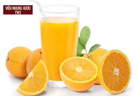 Nước cam giàu vitamin và khoáng chất, là nước uống tốt cho người chơi thể thao