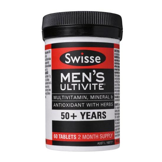 Thuốc bổ cho người trên 50, trên 80 tuổi Swisse Mens Ultivite