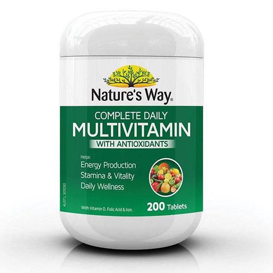 Thuốc bổ tổng hợp Nature's Way Complete Daily Multivitamin 200 viên