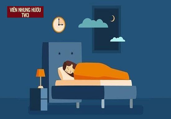 Không gian ngủ yên tính, giảm ánh sáng và tiếng ồn tối đa để giấc ngủ không bị phá vỡ