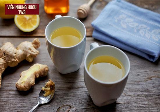 Uống nước chanh gừng mật ong ấm giúp tăng sức đê kháng cho cơ thể